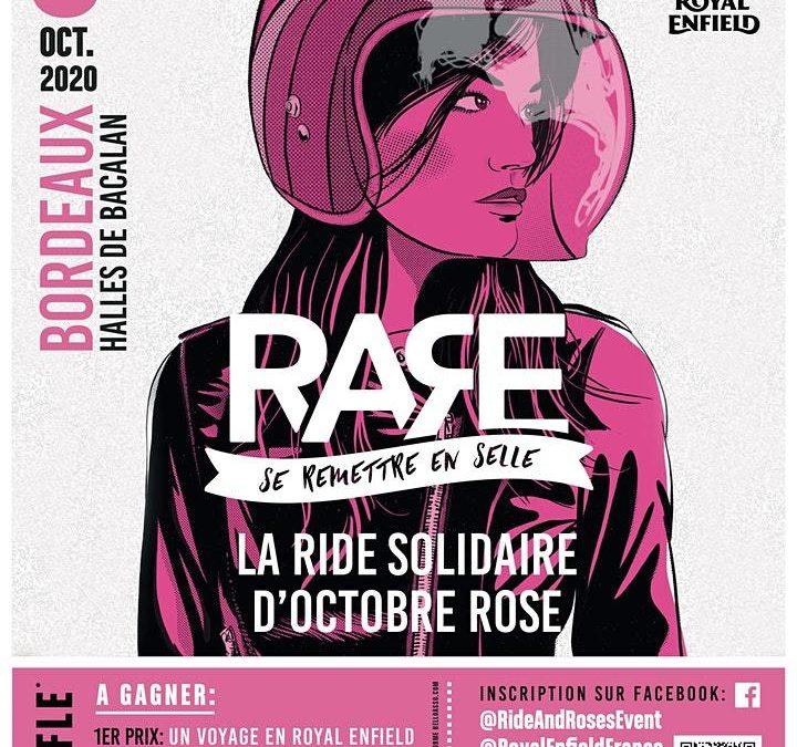 R.A.R.E 2020, le «ride» dédié à la lutte contre le cancer du sein.