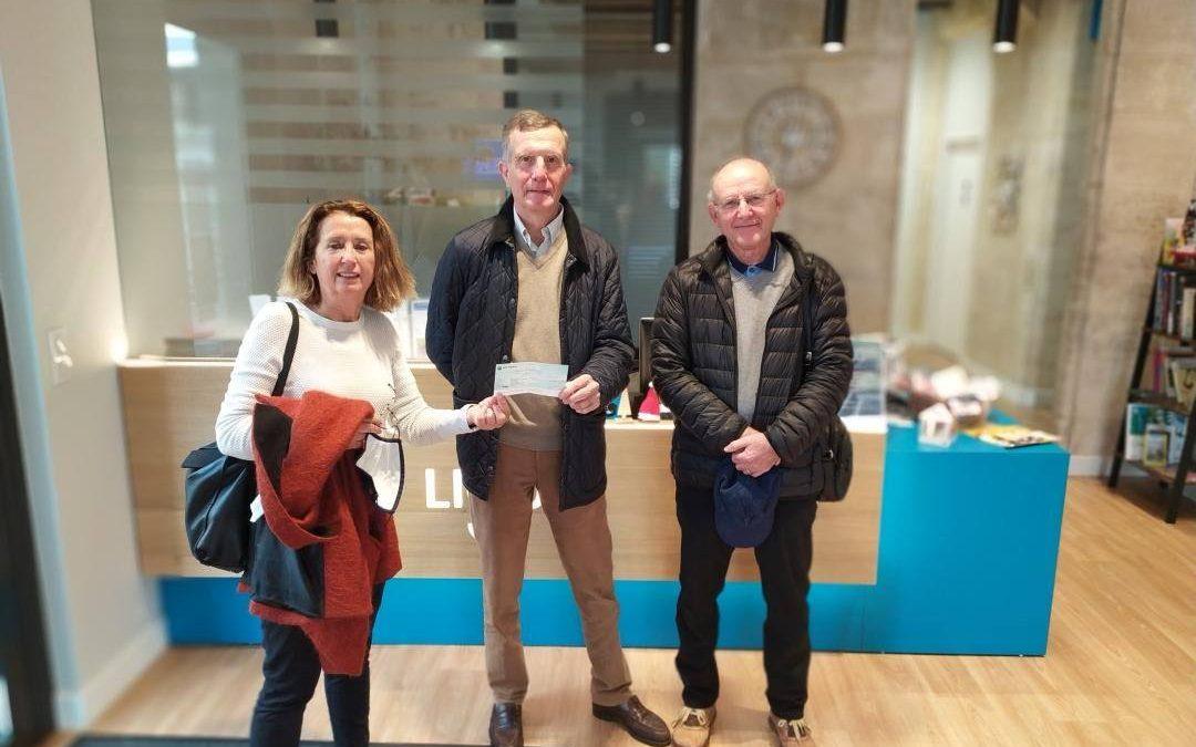 Remise de don des Seniors Golfeurs de Gironde