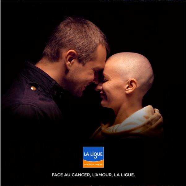 Face au cancer, l'amour, la Ligue.
