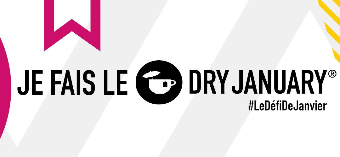 Participez au Défi de Janvier le #DryJanuary!