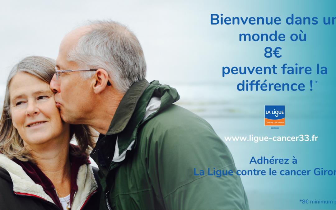Devenez adhérent à la Ligue contre le Cancer Gironde !