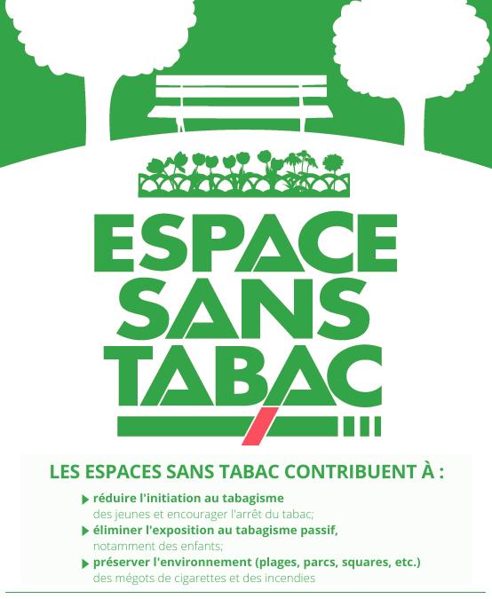 Désintoxiquer les espaces publics : Espace Sans Tabac