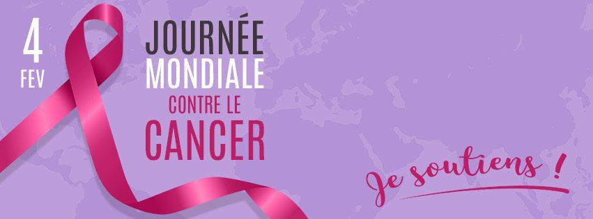 4 février 2021, journée mondiale contre le Cancer