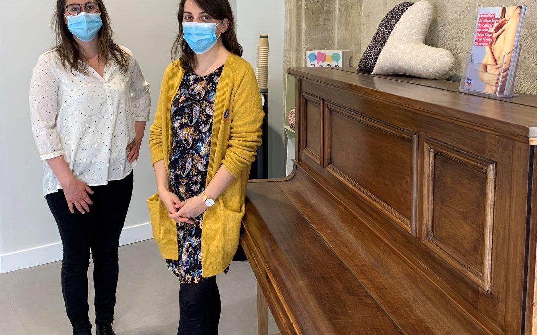 Atelier «autosurveillance de sa poitrine» à l'Espace Ligue Bordeaux Métropole avec le Dr Tiffany Palin de Bordeaux