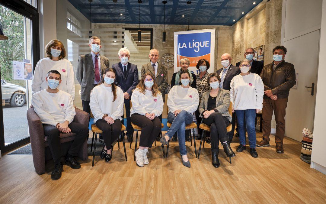 Axel Kahn rencontre le comité Gironde de la Ligue contre le Cancer