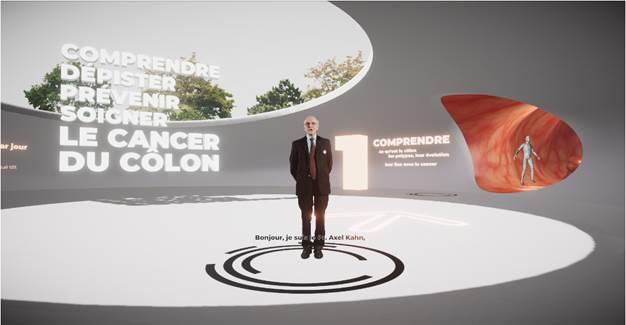Mars Bleu, découvrez le Colon Tour virtuel !