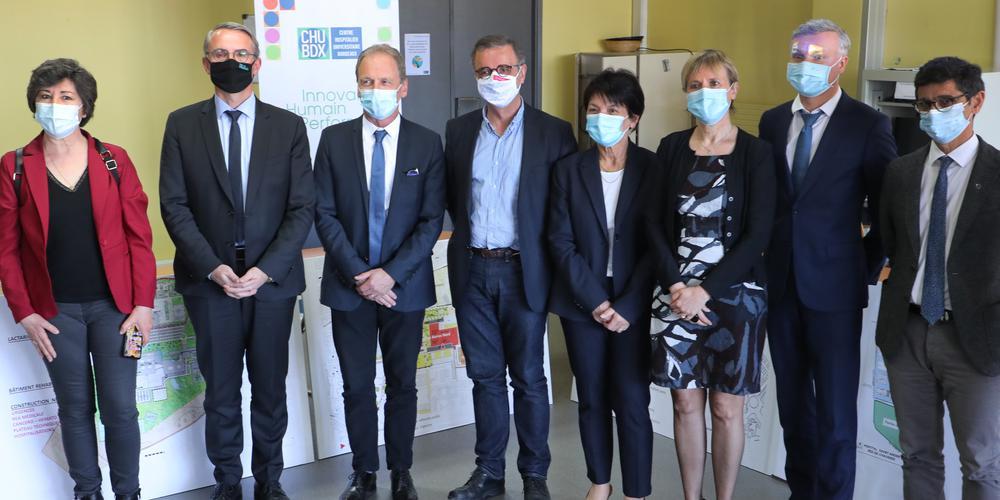 La ligue contre le cancer Gironde représente les usagers dans le cadre de ce projet au bénéfice des patients.