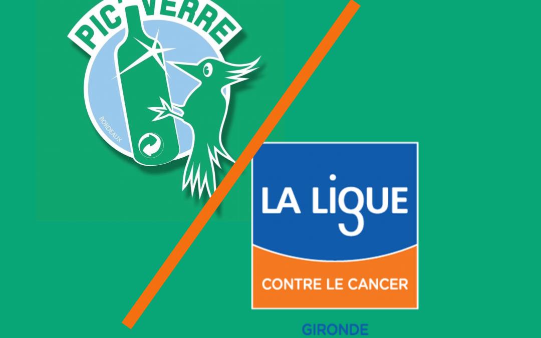 Pic'Verre soutient la Ligue contre le cancer Gironde