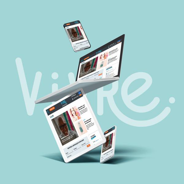 #Vivre, votre media se digitalise